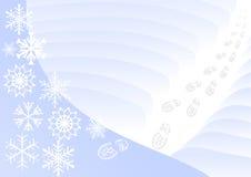 χειμώνας ανασκόπησης Στοκ Εικόνες
