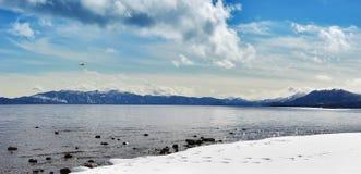 χειμώνας απογεύματος tahoe Στοκ Φωτογραφία