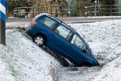 χειμώνας ατυχήματος Στοκ εικόνα με δικαίωμα ελεύθερης χρήσης
