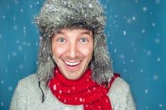χειμώνας ατόμων κουκουλών snowboarder στοκ εικόνα