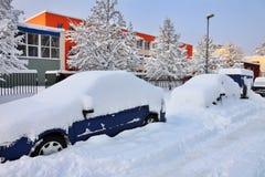 χειμώνας αυτοκινήτων Στοκ φωτογραφία με δικαίωμα ελεύθερης χρήσης