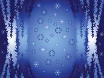 χειμώνας αφαίρεσης Στοκ εικόνα με δικαίωμα ελεύθερης χρήσης
