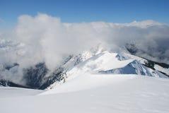 χειμώνας βουνοπλαγιών σύ& Στοκ Φωτογραφία