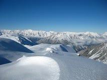 χειμώνας βουνών τοπίων Στοκ εικόνα με δικαίωμα ελεύθερης χρήσης