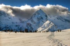 χειμώνας βουνών Στοκ Εικόνες