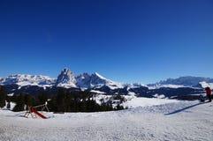 χειμώνας βουνών gudauri Καύκασου Γεωργία στοκ φωτογραφίες με δικαίωμα ελεύθερης χρήσης