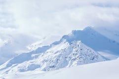 χειμώνας βουνών gudauri Καύκασου Γεωργία Στοκ Εικόνα