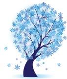 χειμώνας δέντρων διανυσματική απεικόνιση