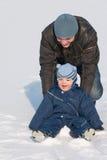χειμώνας διασκέδασης μπα Στοκ εικόνα με δικαίωμα ελεύθερης χρήσης