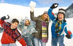 χειμώνας διασκέδασης 18 Στοκ Εικόνα