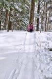 χειμώνας διασκέδασης Στοκ Φωτογραφία