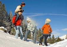 χειμώνας διασκέδασης 3 Στοκ Εικόνες