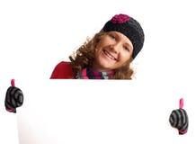 χειμώνας διαφημίσεων στοκ εικόνα με δικαίωμα ελεύθερης χρήσης