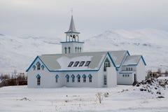 χειμώνας εκκλησιών Στοκ φωτογραφίες με δικαίωμα ελεύθερης χρήσης