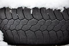 χειμώνας ελαστικών αυτο στοκ εικόνα με δικαίωμα ελεύθερης χρήσης