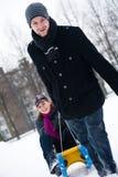 χειμώνας ελκήθρων γύρου &zet στοκ φωτογραφία με δικαίωμα ελεύθερης χρήσης
