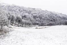 χειμώνας εποχής τοπίων ωρών Στοκ φωτογραφία με δικαίωμα ελεύθερης χρήσης
