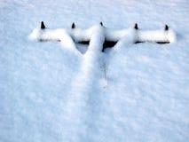 χειμώνας εργαλείων σπορά& Στοκ Φωτογραφίες