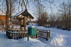 χειμώνας ημέρας επαρχίας Στοκ εικόνες με δικαίωμα ελεύθερης χρήσης