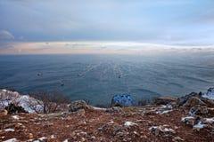 χειμώνας θάλασσας Στοκ εικόνες με δικαίωμα ελεύθερης χρήσης