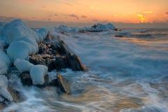 χειμώνας θύελλας Στοκ Εικόνες