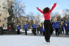 χειμώνας ικανότητας λεωφ Στοκ Εικόνες