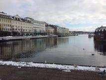 Χειμώνας ι Arendal Στοκ φωτογραφία με δικαίωμα ελεύθερης χρήσης