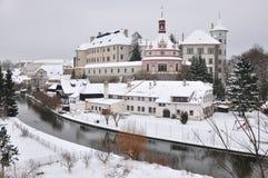 χειμώνας κάστρων Στοκ φωτογραφία με δικαίωμα ελεύθερης χρήσης