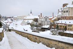 χειμώνας κάστρων Στοκ εικόνα με δικαίωμα ελεύθερης χρήσης
