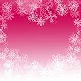 χειμώνας καρδιών διανυσματική απεικόνιση