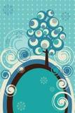 χειμώνας καρτών διανυσματική απεικόνιση