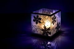 χειμώνας κεριών Στοκ Εικόνες