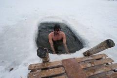 χειμώνας κολύμβησης στοκ φωτογραφίες με δικαίωμα ελεύθερης χρήσης
