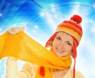 χειμώνας κοριτσιών ιματι&sigma Στοκ φωτογραφίες με δικαίωμα ελεύθερης χρήσης