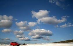 χειμώνας κυκλοφορίας στοκ φωτογραφία με δικαίωμα ελεύθερης χρήσης