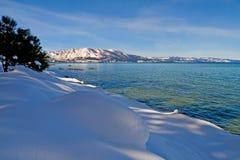 χειμώνας λιμνών στοκ εικόνα με δικαίωμα ελεύθερης χρήσης
