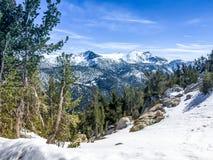 χειμώνας λιμνών tahoe Στοκ φωτογραφίες με δικαίωμα ελεύθερης χρήσης