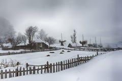 Χειμώνας μεγάρων Στοκ φωτογραφίες με δικαίωμα ελεύθερης χρήσης