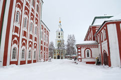 χειμώνας μοναστηριών Στοκ Φωτογραφίες