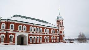 χειμώνας μοναστηριών Στοκ Εικόνες