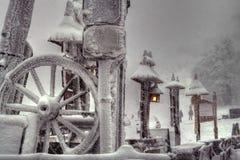 χειμώνας μυστηρίου Στοκ φωτογραφίες με δικαίωμα ελεύθερης χρήσης