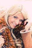 χειμώνας μόδας Στοκ Φωτογραφίες