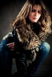 χειμώνας μόδας Στοκ εικόνες με δικαίωμα ελεύθερης χρήσης