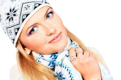 Χειμώνας μόδας Στοκ Εικόνα