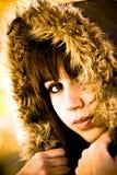 χειμώνας μόδας Στοκ Φωτογραφία