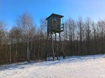 Χειμώνας δορών κυνηγών Στοκ φωτογραφίες με δικαίωμα ελεύθερης χρήσης