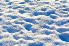 χειμώνας οδικού χιονιού ανασκόπησης Στοκ Εικόνες