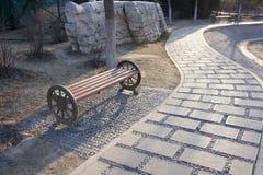 χειμώνας πάρκων Στοκ φωτογραφίες με δικαίωμα ελεύθερης χρήσης