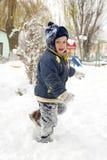 χειμώνας παιχνιδιών Στοκ Εικόνες