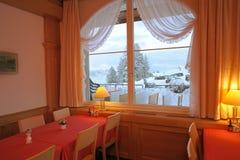 χειμώνας παραθύρων όψης Στοκ εικόνες με δικαίωμα ελεύθερης χρήσης